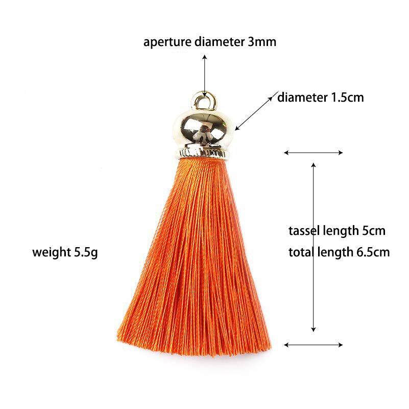 Mini Hanging Fringe DIY Sewing Earring Accessories Jewelry Crafts Silk Tassels