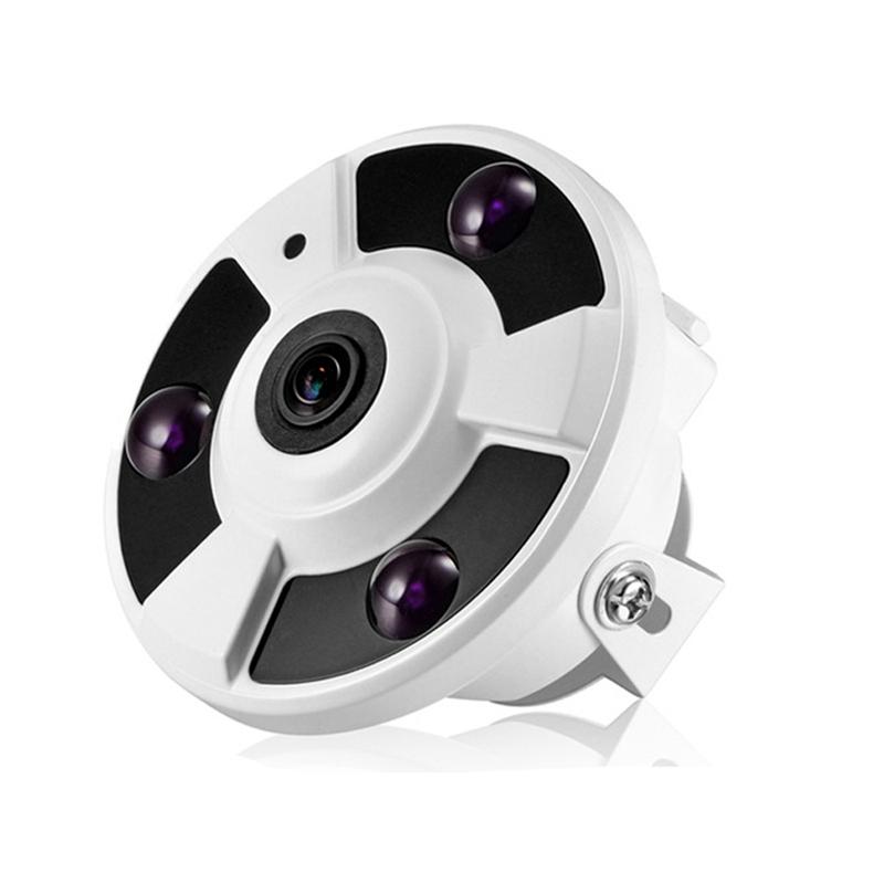 1080P Fisheye Vr Poe48V Ip Camera Electronic Ptz 180 Panoramic Onvif Email Alarm Ir-Cut P2P Security Cctv Camera