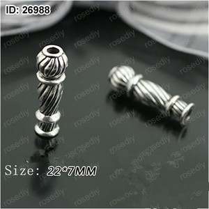 Image 1 - 2018 New Arrival Muslim Rosary Imam 20pcs/lot Alloy Materials Imam for Prayer Beads Making DIY Connector Free Shipping