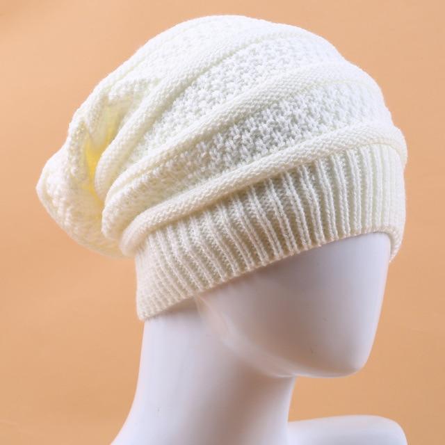 6153d5da1 US $4.99  2019 Hot Sale Winter Striped Rasta Reggae Wool Knitted Beanie  Hats Hip Hop Long Caps Bonnet for Men Women 3 Colors black white -in  Women's ...