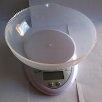 5000g/1g Wyświetlacz LCD Elektroniczna Waga Kuchenna waga Elektroniczna Kuchnia Food Diet Pocztowy Skala Waga Narzędzie Z Tacy gospodarstw domowych Skala