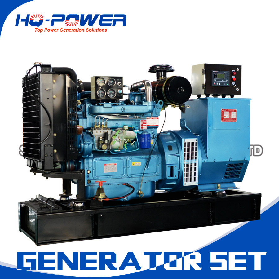 Diesel Generator Ricardo Series 40kw Home Use Small Size
