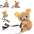 1Pcs/set Kawaii Rilakkuma plush backpacks Cute messenger bag cartoon bag