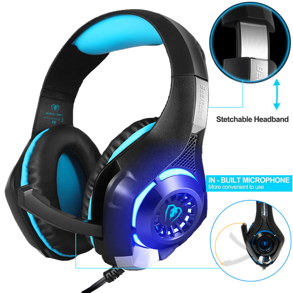 Newest Gamer Gift Anivia A9 PS4 Gaming Headset Stereo PC Computer Headphone...