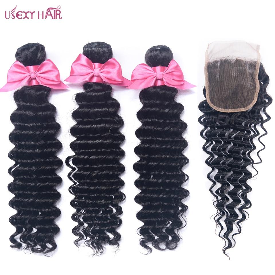 USEXY HAIR Deep Wave Bundles with