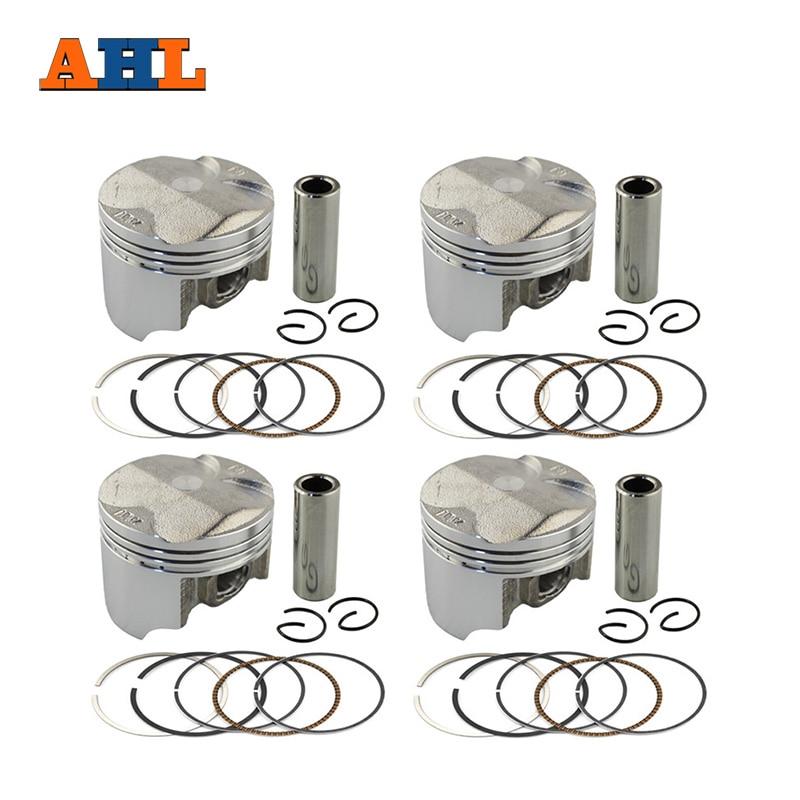 AHL 4pcs Set STD 25 50 Bore Size 55mm 55 25mm 55 5mm Piston Ring Kit