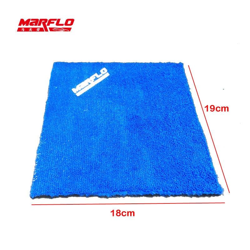 MARFLO Window Cleaner Magic Clay Cloth Towel Microfiber Car Wash Detailing Clay Bar Pad Auto font