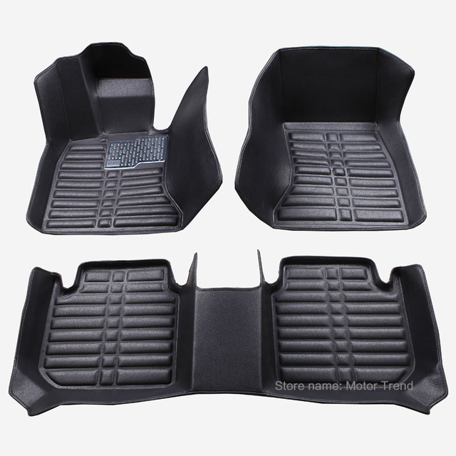 Custom Fit Car Floor Mats Special For W164 W166 Mercedes Benz ML GLE ML350  ML400 ML500