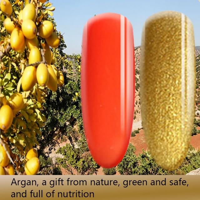 Morocco Argan Nutrition Color Gel Fashion Nail Gel Polish Soak Off UV Colorful Nail Colors For gel nail polish Long-lasting