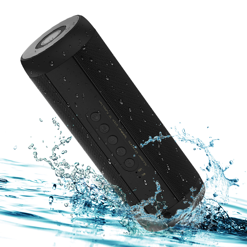 T2 Drahtlose Bluetooth Lautsprecher Beste Wasserdichte Tragbare Outdoor Lautsprecher Mini Spalte Box Lautsprecher Design für iPhone Xiaomi