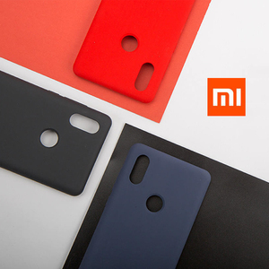 Image 1 - Original Xiaomi Mi MIX 2S Silicone Case New Mi MIX 2S Silicone + PC + Microfiber MIX 2S Cover Genuine Xiaomi Brand MIX2S Capa