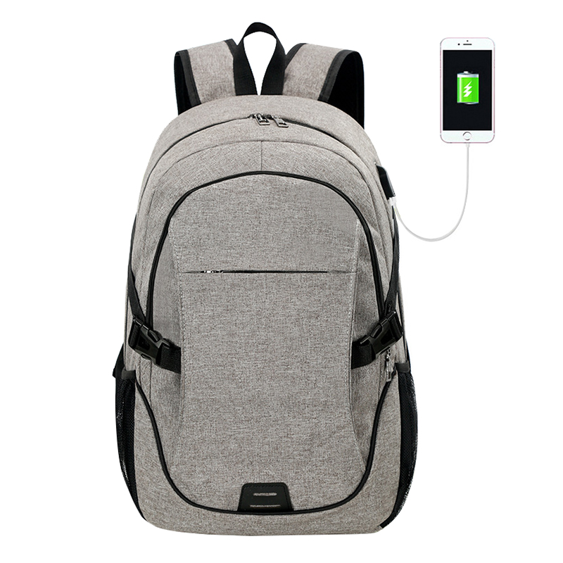 ZHIERNA Men's Security Backpack With USB And Headphone Jack Bag Large-capacity Innovative Business Leisure Female Shoulder Bag