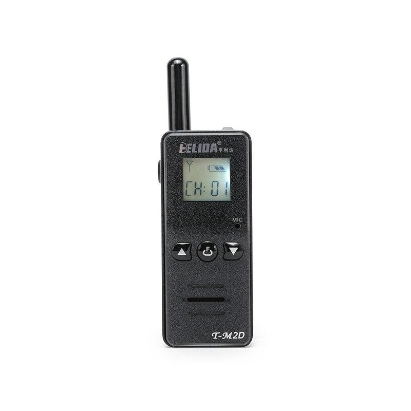 Talkie-walkie bidirectionnel de radio tenue dans la main HELIDA M2D pmr 446