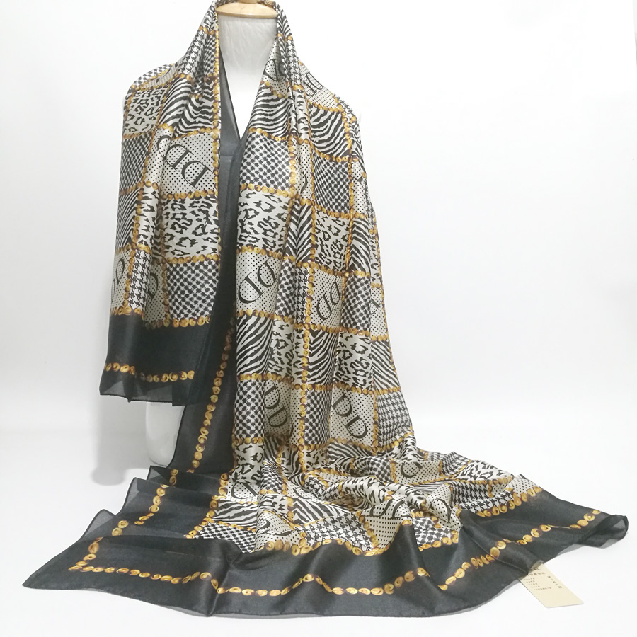 Phertiful Hot Wonderful Lady Long Soft Scarfs Wrap Shawl For Elegant Women Han Edition Scarf Scarves Shawls Black Color FN082