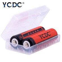 YCDC 8 sztuk dużo oryginalny 18650 AA AAA litowo-jonowy Ni-MH akumulator 3000 2000 1000 mAh 3.7 V 1.2 V NCR18650B baterie