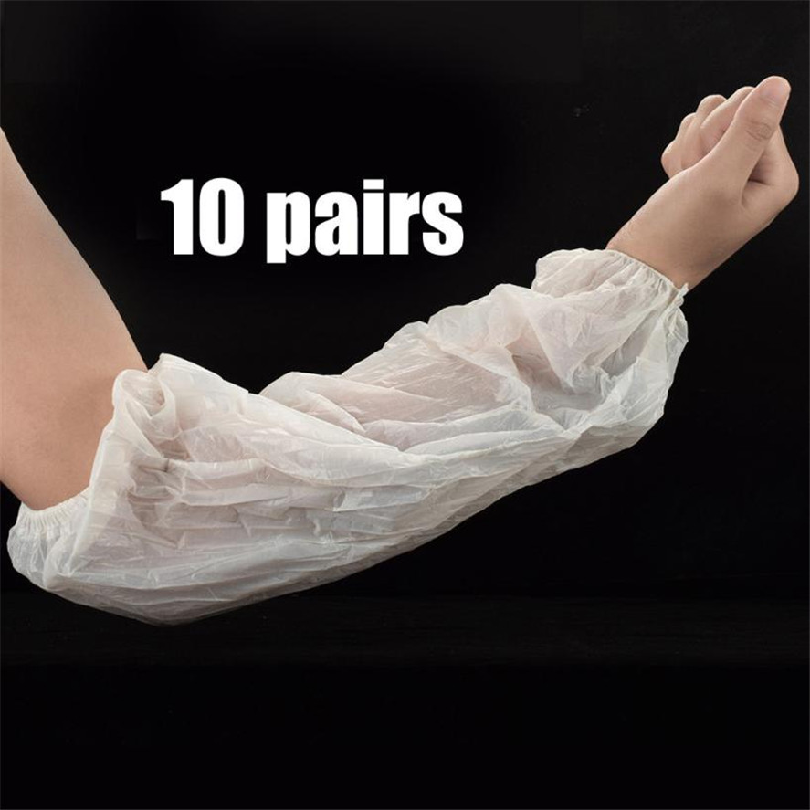 New Tattoo accessories HAICAR 10pairs Disposable Tattoo Sleeve Medical latex Elastic Band Disposable Arm Oversleeves 32