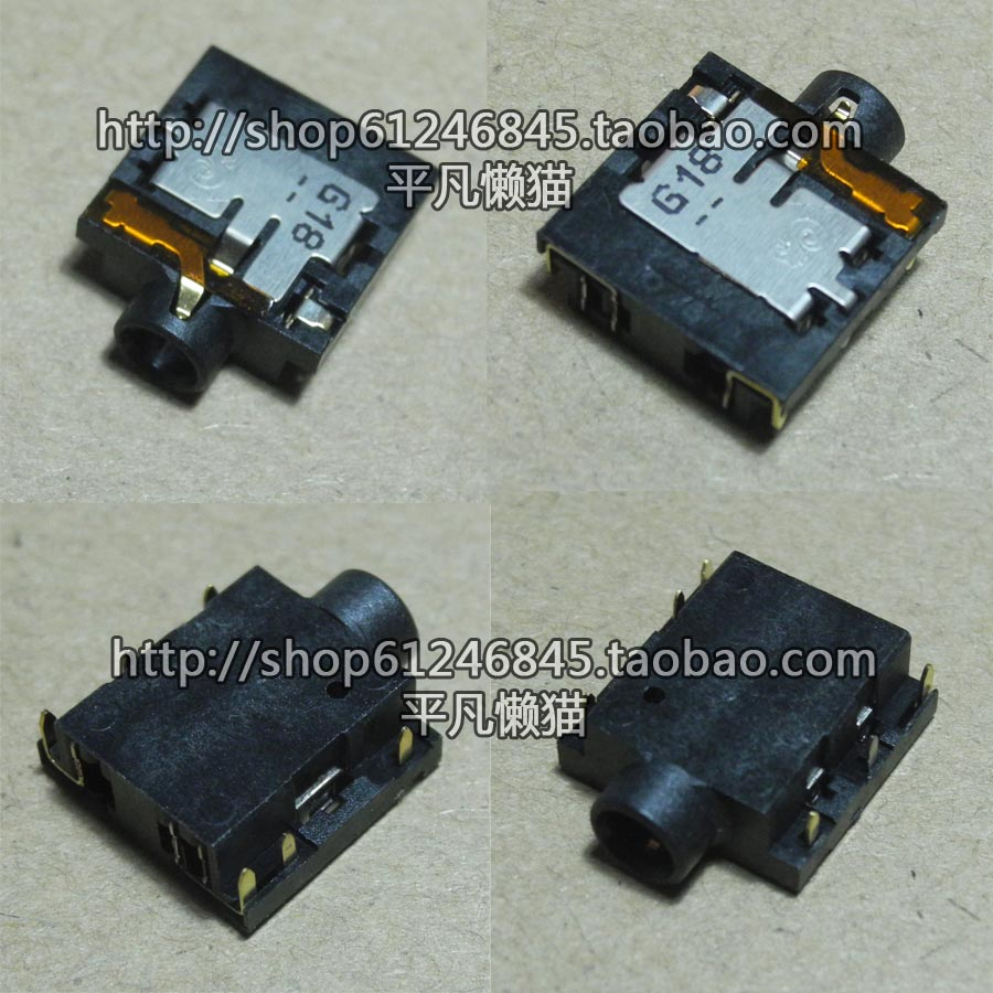 New original For Acer Lenovo HP HP and other notebook headset audio interface jack 6 pins клавиатура lenovo hp