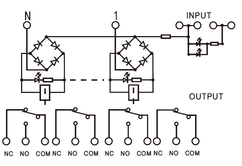 Omron 24v Relay Wiring Diagram Taotao 50cc Scooter Geya 2ng2r 4 Channel Module 2no 2nc Electronic Dpdt