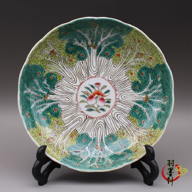 Antique Porcelain Of Qing Guangxu Year