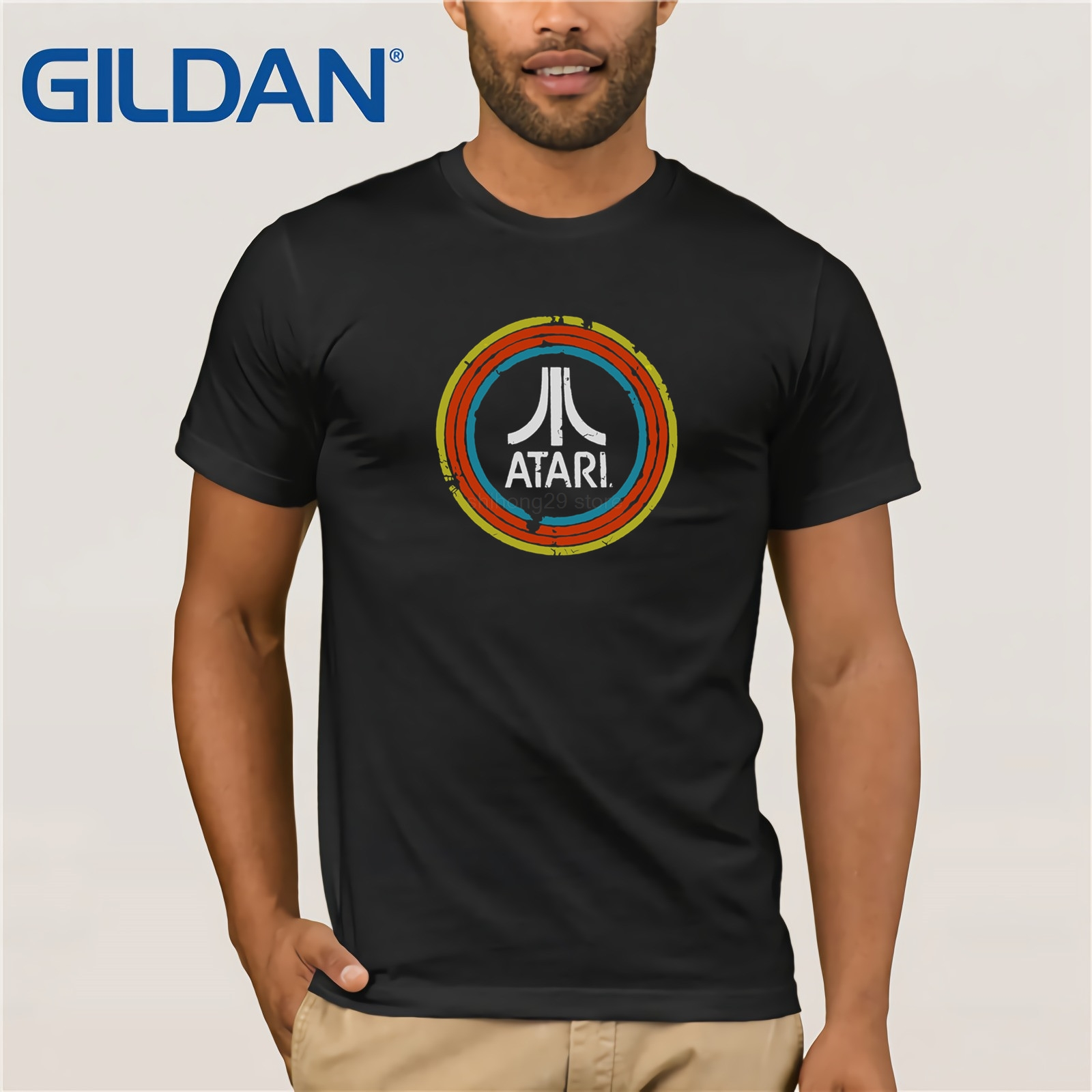 Atari T-Shirt 2019 Summer New Style Men's Short Sleeve T-Shirt