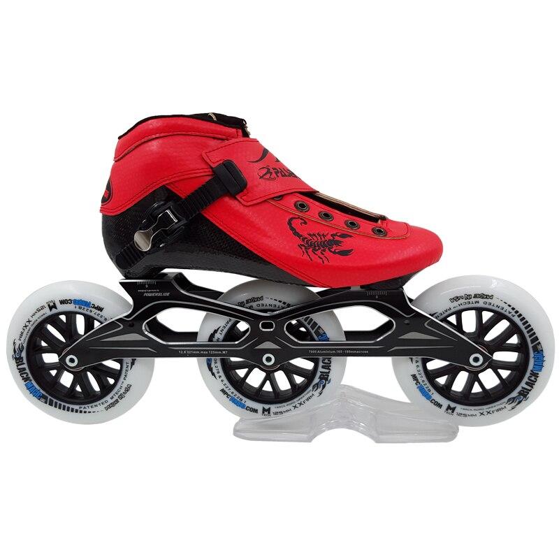Professional Speed Skate Shoes Women/Men Roller Skating Boots Children/Adults Inline Skates Shoes Carbon Fiber Shoes