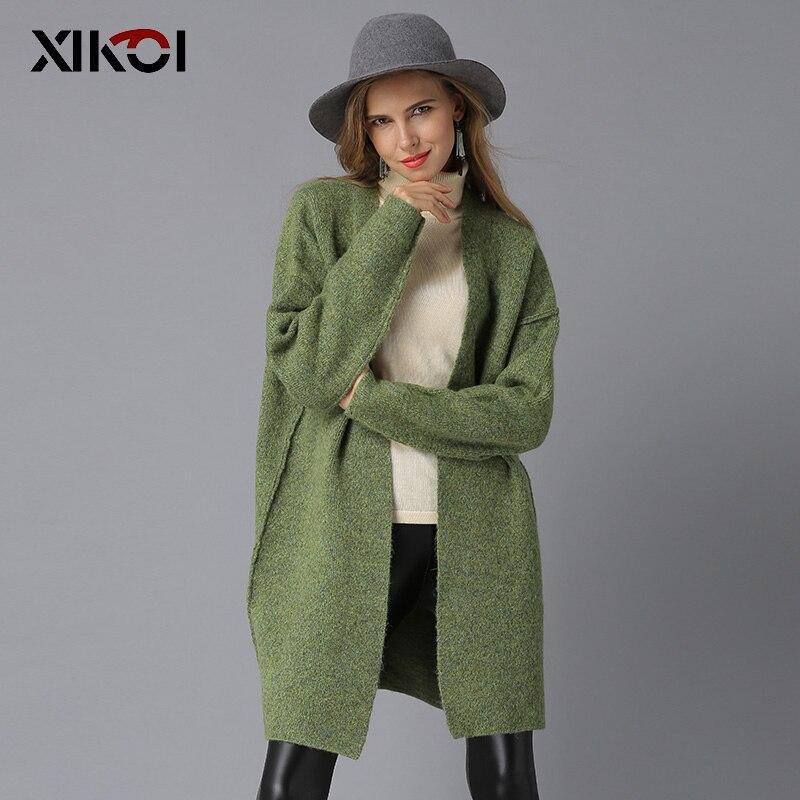 cou Femme green V Chandail Femmes Solide Manteau Ouvrir Chandails Long Pull De picture Color Tricoté Womans Casual Point Gray Cardigan Noël Yp0qqUCz