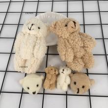 Маленькие Мини 3 см-11 см аксессуары медведь плюшевые игрушки, мягкая игрушка, общий медведь животное плюшевые игрушки куклы