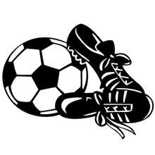 Car Styling Sport Football Sneaker Reflective Sticker Die Cut Decoration Decal(China)