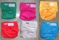 6 cores à prova d' água Adulto fralda de pano Fraldas fraldas fraldas fraldas (1 pcs fraldas + 1 pcs inserção)