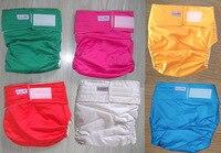 6 Color Waterproof Adult Cloth Diaper Nappy Nappies Diaper Diapers 1pcs Nappies 1pcs Insert
