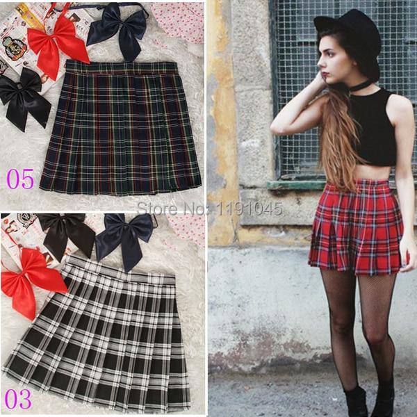 Online Get Cheap Red Plaid Skirt -Aliexpress.com | Alibaba Group