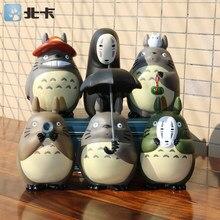 Miyazaki Hayao figure giocattoli 2018 del Nuovo del PVC Anime Giapponese Spirited Away No Viso M auto Chinchilla cat bus giocattoli