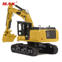 Mini Excavator 1/50 Alloy Diecast TR40003 Tractor CAR Simulation of engineering Vehicle Kids Toys Collection Gift