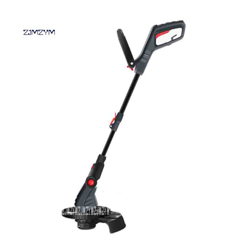 ZJMZYM Portable Electric Lawn Mower LYR-529 Household Grass Trimmer Multi-function Lawn Mower 220v 500W 9300/min 290mm Hot Sale new arrival electric home lawn mower et2803 8000 r min electric weeding machine 18v rechargeable lawn mower cutting machine hot