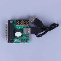 computer motherboard PC Diagnostic Card USB Post Card Motherboard Analyzer Tester for Notebook Laptop Computer Accessories (2)