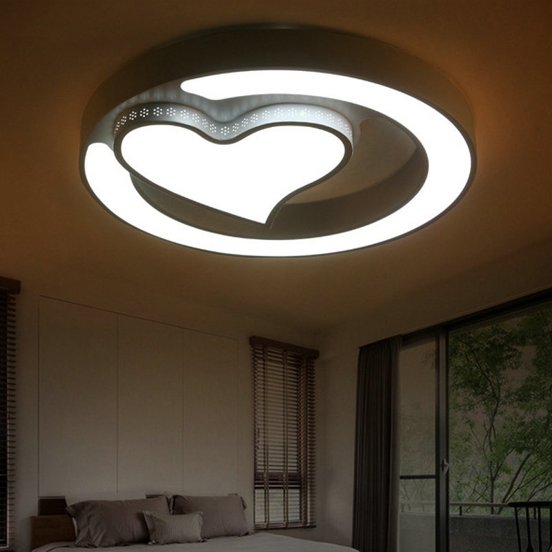 New Design Ceiling Lights : New design modern led ceiling lamp living room bed