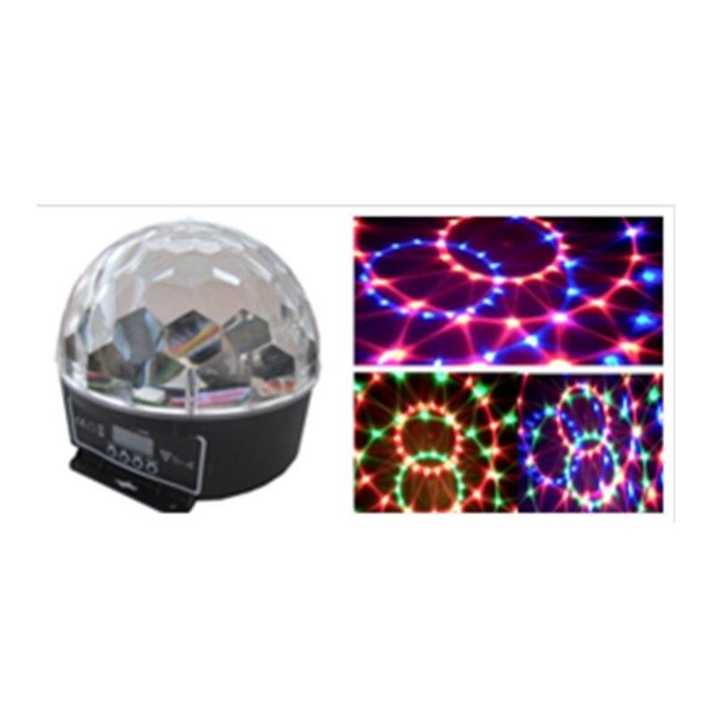 6*3 W LED disco club DMX contrôle 18 W boule de cristal ktv équipement