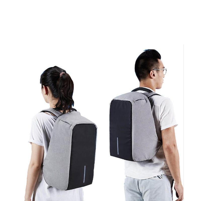 Купить с кэшбэком Male Multifunction USB Charging Fashion Business Casual Travel Anti-Theft Waterproof 15.6 Inch Laptop Men Backpack Laptop Bag