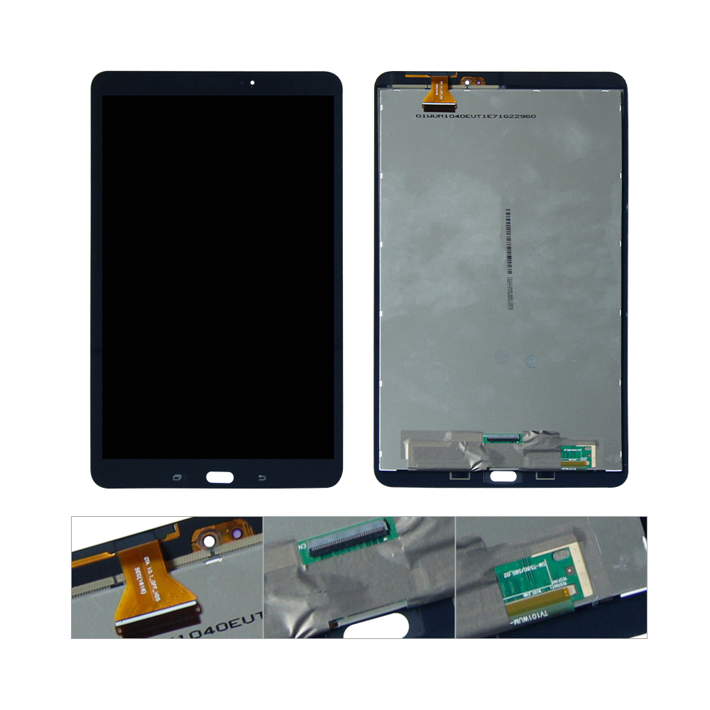 For Samsung Galaxy Tab A 10.1 T580 SM-T580 LCD Display Touch Screen Digitizer Assembly Replacement 20pcs lot new original for samsung galaxy s5 i9600 display lcd touch screen digitizer complete assembly free dhl