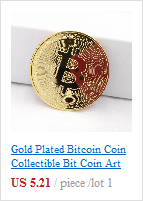 Украшение для дома, поделки, монеты иностранных валют, Биткоин, позолоченные монеты, коллекция монет Litecoin, художественный подарок Mar19