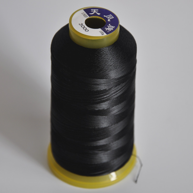 Black Hair Sewing Thread For Making Wigs Hair Extension Thread