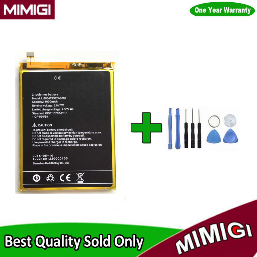 супер отпечатков пальцев 4000мАч Батарея для <font><b>UMI</b></font> <font><b>Super</b></font> Fingerprint 4G мобильный телефон аккумулятор