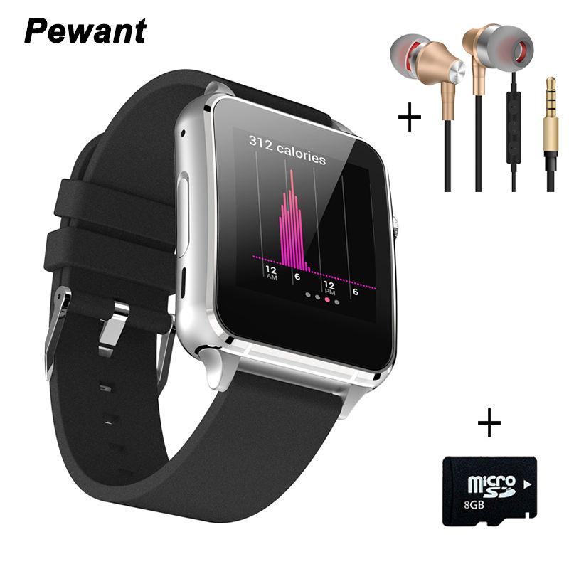 Prix pour 2017 Nouveau Smart Watch Horloge Connecté Bluetooth Montre-Bracelet Pour Apple iPhone Soutien WhatsApp Moniteur de Fréquence Cardiaque Smartwatch
