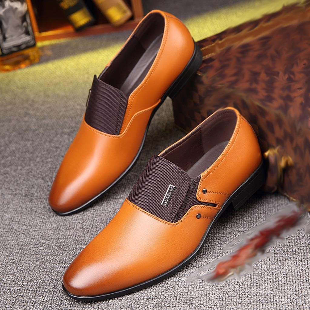 Leather Formal Shoes - Zapatos De Hombre De Vestir 6