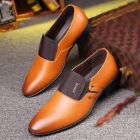 Leather Formal Shoes - Zapatos De Hombre De Vestir 6