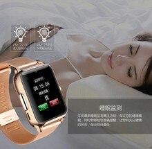 Bluetooth Smart-handy Uhr Klassische Gesundheit Metall Smartwatch für Android ISO Phone Remote Kamera Uhr