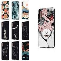 For Samsung  A9 2018 J6 Plus A6 Plus Ultra Slim Soft TPU Black Shockproof Rubber Gel Case Cover
