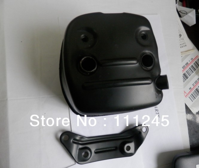 MUFFLER FOR GASOLINE CHAINSAWS 362 365 371 372 385 FREE SHIPPING PETROL CHAIN SAW EXHAUST MUFFER  REPL. STIHL PARTS  503 76 5301 muffler for chainsaw 024 026 ms240 ms260 chain saw exhaust silencer pipe part repl p n 1121 140 0606