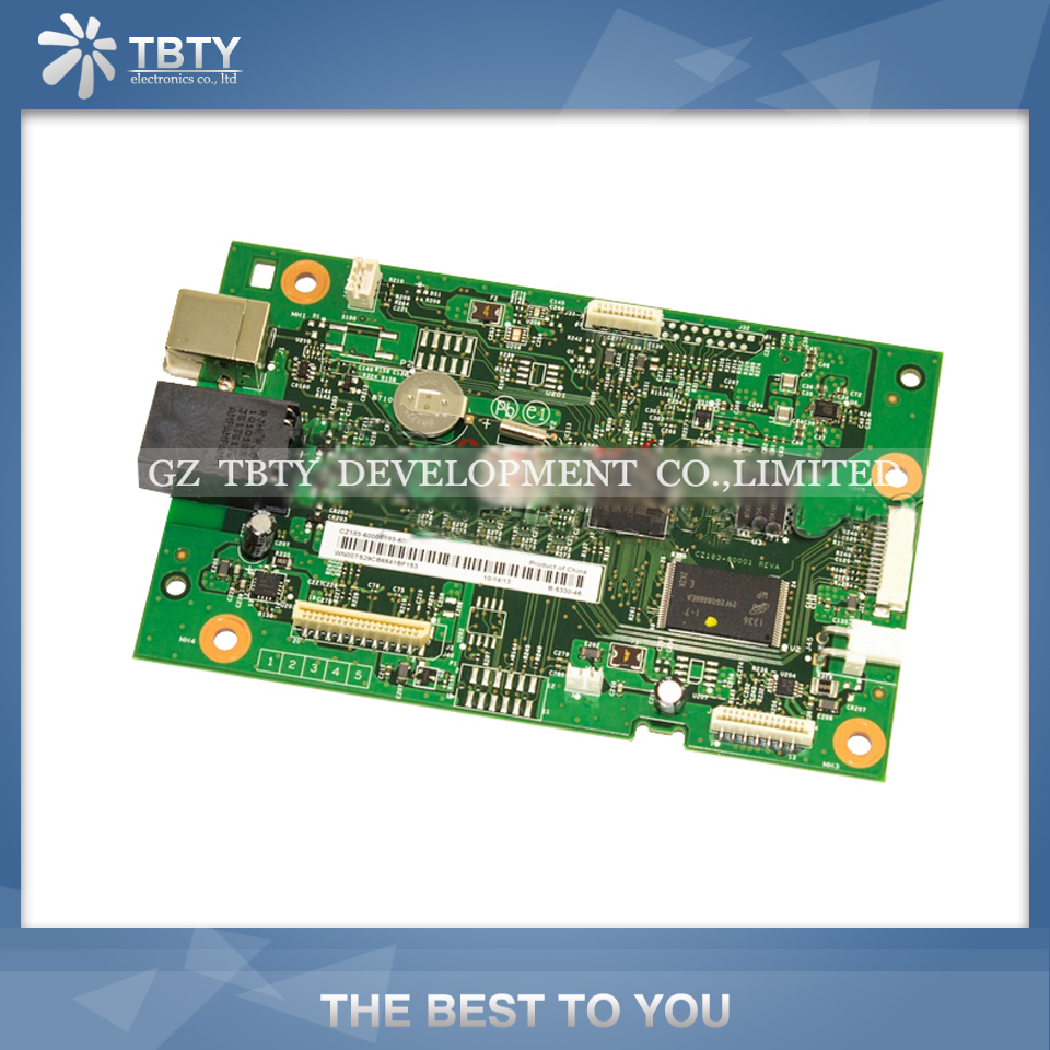 LaserJet Printer Mainboard Formatter Board For HP M177N M177 177N 177 Main board On Sale brand new printer spare parts logic board laserjet for hp175nw 175n 175a formatter board main board
