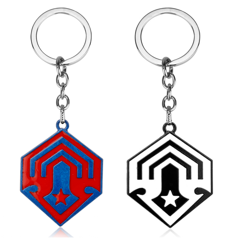 Game Series Jewelry Halo 5 Key Chain Halo 5 Spartan Metal Pendant Keychain Key Buckles Car Accessories For Men Women